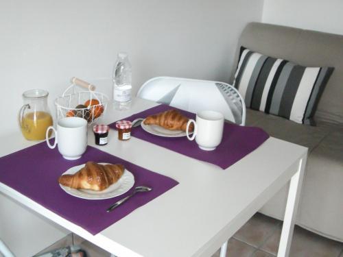 Chambre d'hôte - Cabane Blanche - Le petit déjeuner