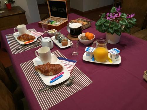 Cabane Blanche Petit déjeuner
